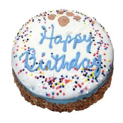 Happy Birthday Vanilla Cake