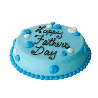 Fathers Day Cream Cake