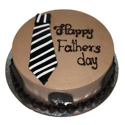Happy Fathers Day Special Chocolate Cake