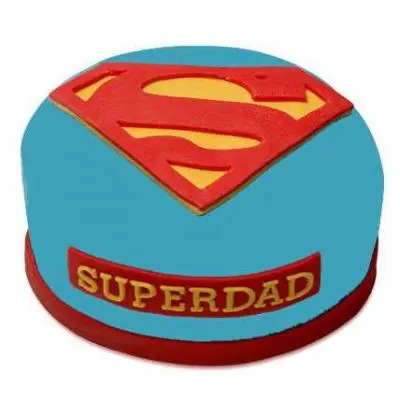 Super Dad Vanilla Cake