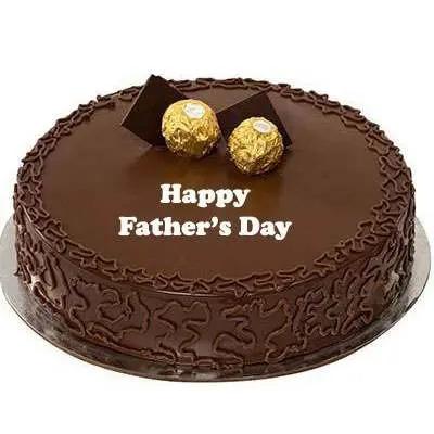 Fathers Day Ferrero Rocher Cake