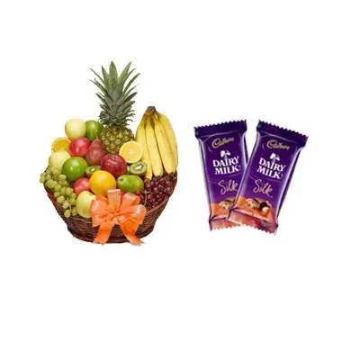 Fruit Basket & Chocolate