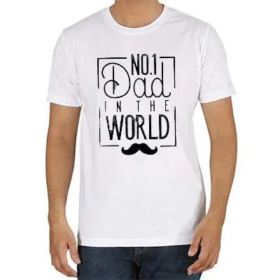 No 1 Dad T Shirt