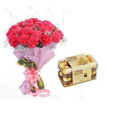 Pink Carnation & Ferrero Rocher