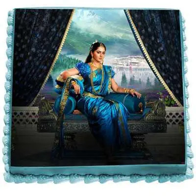 Princess Devasena Photo Cake