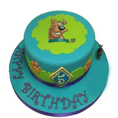 Scooby Doo Fondant Cake