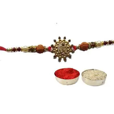 Beautiful Om Rakhi For Brother