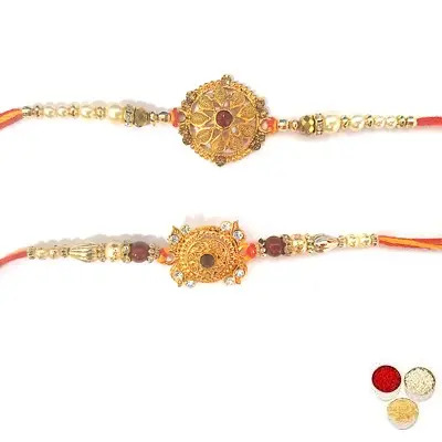 Set Of 2 Designer Rakhi