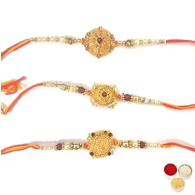 Set of 3 Designer Rakhi