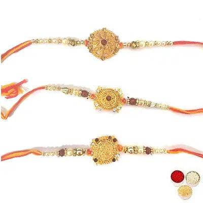 Set of 3 Designer Rakhi