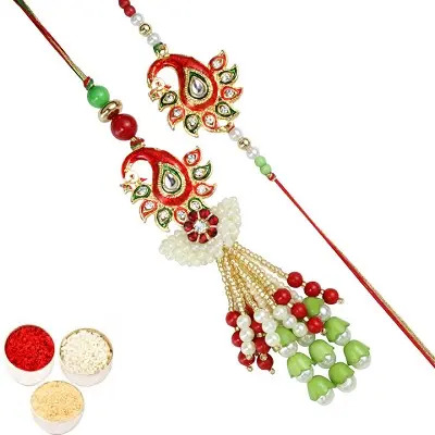 Beautiful Rakhi Set For Bhaiya Bhabhi
