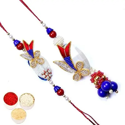 Lumba Rakhi For Brother Bhabhi