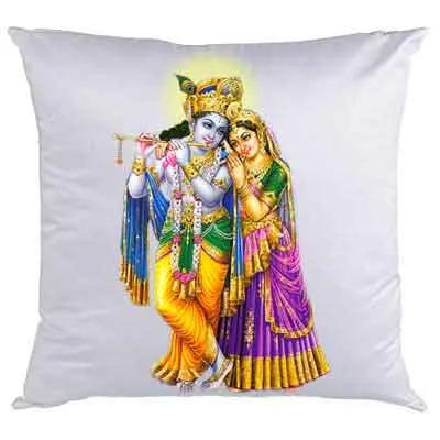 Beautiful Radha Krishna Cushion