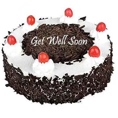 Get Well Soon Black Forest Cake