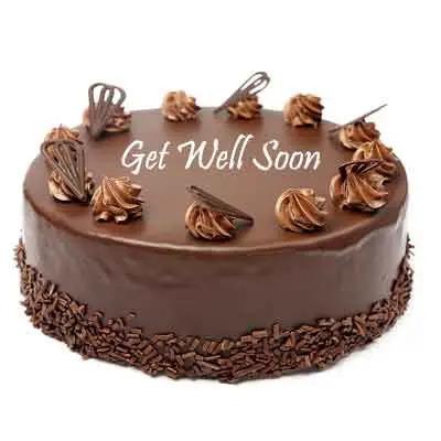 Get Well Soon Chocolate Cake