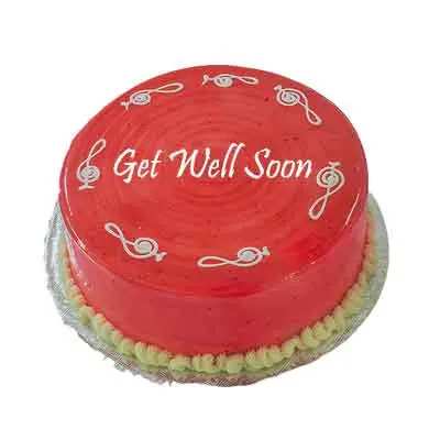 Get Well Soon Strawberry Cake