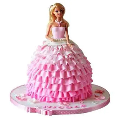 Delicious Barbie Doll Cake