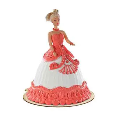 Special Barbie Doll Cake