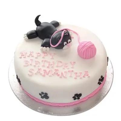 Adorable Cat Cake