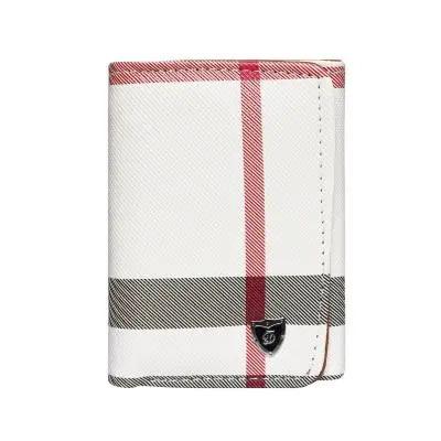 Women Designer Party Hand Wallet White
