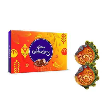 Cadbury Celebration with Diyas