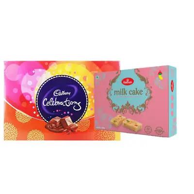 Haldiram Milk Cake with Celebration