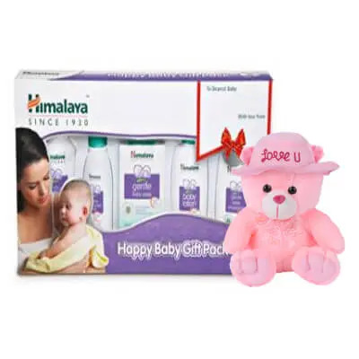 Himalayan Baby Gift Pack with Teddy