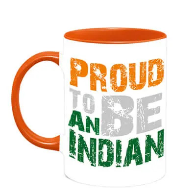 Proud to Be An Indian Mug
