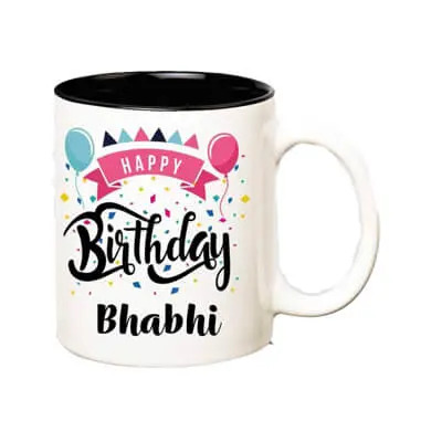 Happy Birthday Bhabhi Mug