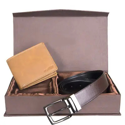 Wallet & Belt Gift Pack