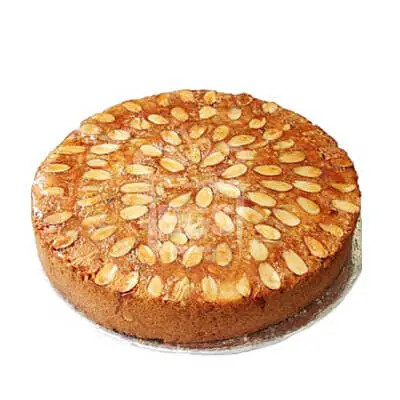 Vanilla Almonds Dry Cake