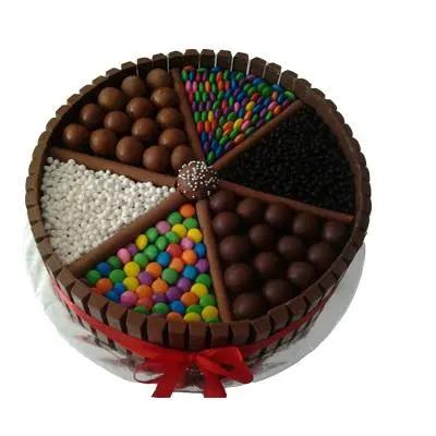 KitKat Cake with Truffle Balls
