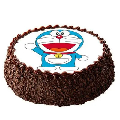 Doraemon Chocolate Cake