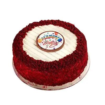 Birthday Red Velvet Cheese Cake