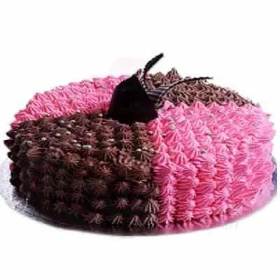 Sizzling Strawberry Cake