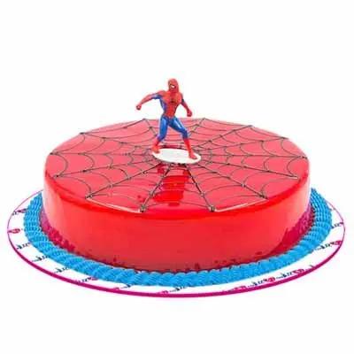 Spiderman Strawberry Cake