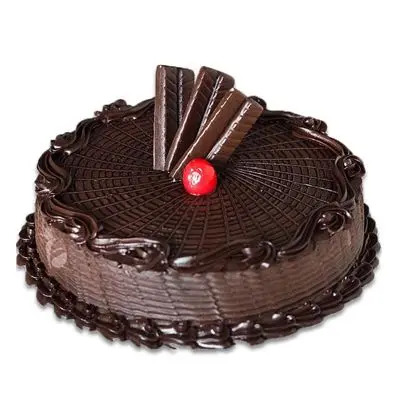 Marvelous Chocolate Truffle Cake
