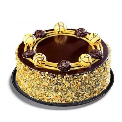 Praline Truffle Cake