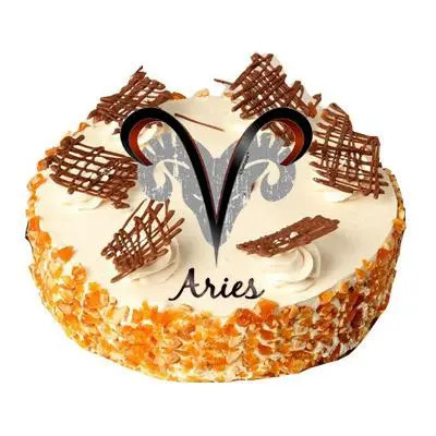 Aries Butterscotch Cake