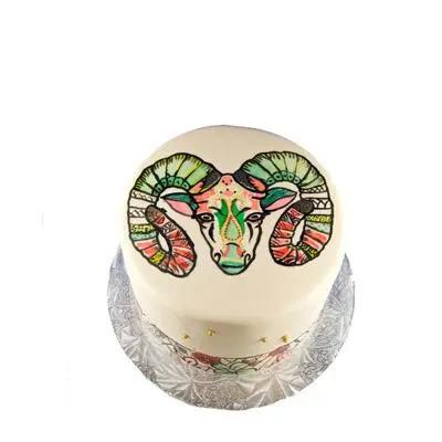 Aries Vanilla Cake