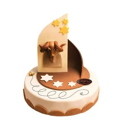 Special Aries Fondant Cake