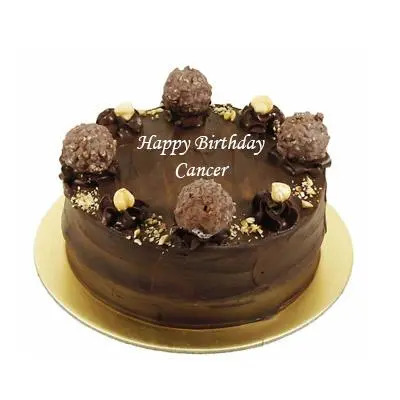 Ferrero Rocher Cake For Cancer Zodiac Sign