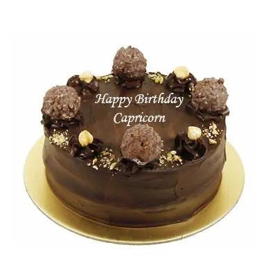 Ferrero Rocher Cake For Capricorn Zodiac Sign