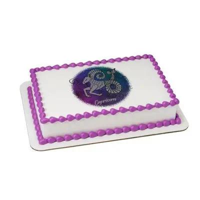Pineapple Cake For Capricorn Zodiac Sign