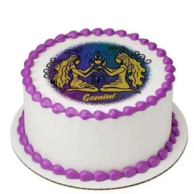 Pineapple Gemini Round Cake