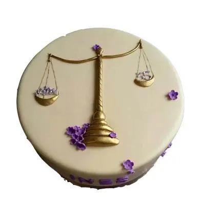 Libran Birthday cake