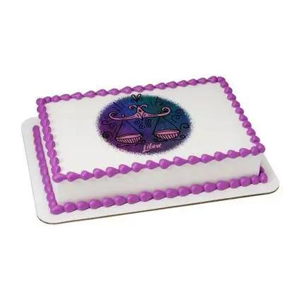 Pineapple Libra Rectangular Cake