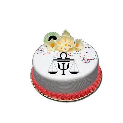 Special Libra Vanilla Cake