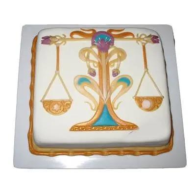 Vanilla Libra Square Cake