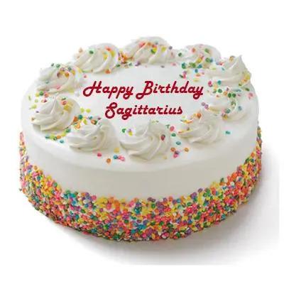 Sagittarius Vanilla Cake